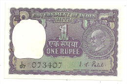 India 1 Rupee 1969 Gandhi UNC .S.1 - Indien