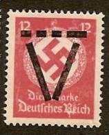 Germany 1945, French Occup. Zone Saulgau 12 Pfg. - Germania