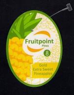 # PINEAPPLE FRUITPOINT Calibre 8 Fruit Tag Balise Etiqueta Anhanger Ananas Pina Costa Rica - Fruits & Vegetables