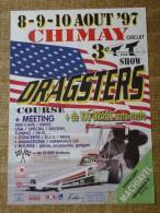 Circuit de Chimay-- 8-9-10 AO�T ' 97 - 3e T an T SHOW DRAGSTERS