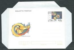 1992 ITALIA BIGLIETTO POSTALE GALILEO GALILEI - ED - 6. 1946-.. Repubblica