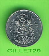 MONNAIES DU CANADA - 0.50 CENTS , 1994 - ÉLIZABETH II,  D.G. REGINA -  MINT CONDITION - - Canada