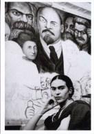 Mexican Artist FRIDA KAHLO New Worker's School NY POSTCARD NYC Lucienne Bloch - 10150 - Femmes Célèbres