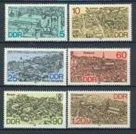 BL4-346 DDR, EAST GERMANY 1988 MI 3161-3166 HISTORIC CIRCLE CITIES, KREISSTADTE. MNH, POSTFRIS, NEUF** - Monumenten