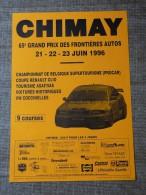 Circuit de Chimay-- 65e GRAND PRIX DES FRONTIERES  AUTOS  21-22-23 juin 1996
