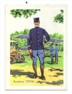 Chromo, Uniforme, Militaire, Aviateur - 1916 - Other