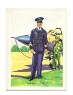 Chromo, Uniforme, Militaire, Aviateur - 1960 - Other