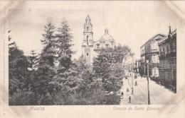 Original Old Card - Mexico - Templo de Santo Domingo - Unused - 2 scans - Animated
