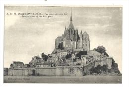 Cp, 50, Le Mont Saint-Michel, Vue Générale, Côté Est - Le Mont Saint Michel