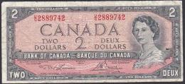 Canada, 2 Dollars, P.76d (Lawson/Bouey) VG - Canada