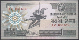 Korea(D.P.R.K/North),1 Won, P.27 (1988 Capitalist Visitor Issue) UNC - Korea, North