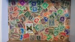 Lot #4 Lot of Worldwide Old Stamps Mint/Used weight 4 oz