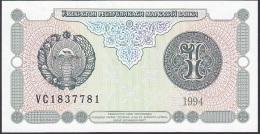 Uzbekistan, 1 Sum, P.73 (1994) UNC - Uzbekistan