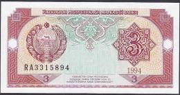Uzbekistan, 3 Sum, P.74 (1994) UNC - Uzbekistan