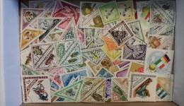 Lot #6 Lot of Worldwide Old Stamps Mint/Used weight 6 oz
