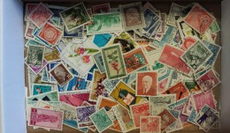 Lot #7 Lot of Worldwide Old Stamps Mint/Used weight 4 oz