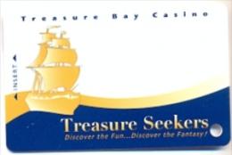 Treasure Bay Casino, Biloxi, MS, U.S.A.,  used slot or players card, treasurebay-1