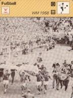 FUSSBALL-FOOTBALL-SOCCER- CALCIO, Trading Card / Sammelkarte, 1977-78, Ca. 16x12 Cm, Ed. Rencontre S.A., Lausanne - Calcio