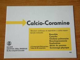 CALCIO-CORAMINE / CIBA BRUXELLES - ( Details Zie Foto ) ! - Produits Pharmaceutiques