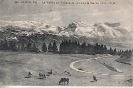 La Vallée De Villard-de-Lans (38)  Et Le Col De L'Arc - Villard-de-Lans