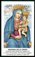 Santino - Madonna Delle Grazie - Venerata In San Giovanni Rotondo (FG) - Santini