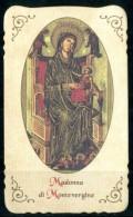 Santino - Madonna Di Montevergine - - Devotieprenten