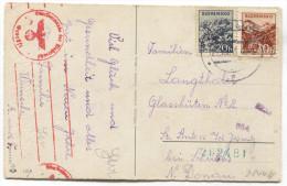 Slovakia, 1941. WW2, Germany Censorship, New Year - Slovaquie