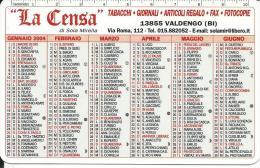 CAL635 - CALENDARIETTO 2004 - GNUTTI BORTOLO - LUMEZZANE (BS) - Calendari