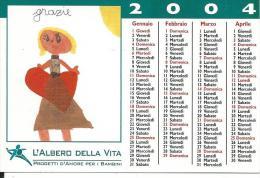 CAL646 - CALENDARIETTO 2004 - L'ALBERO DELLA VITA - Calendari