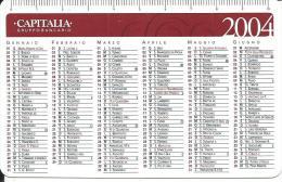 CAL647 - CALENDARIETTO 2004 - CAPITALIA GRUPPO BANCARIO - Calendari