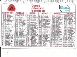 CAL650 - CALENDARIETTO 2004 - AIDO EMILIA ROMAGNA - Calendari