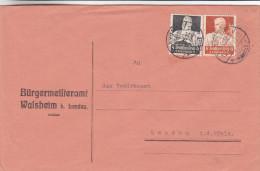 Forgeron - Allemagne - Empire - Lettre De 1934 ° - Oblitération Bandau - Deutschland