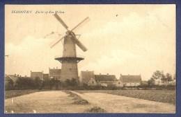 Schooten : Zicht Op Den Molen (ed Mannekens) - Afstempeling Schootenhof 16/8/1909 - Schoten