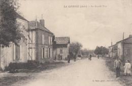 CPA - La Giberie - La Grande Rue - France