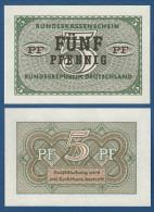 5 Pfennig, Bundeskassenschein, 1967, Ro. 314, UNC ! - [13] Bundeskassenschein