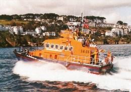Postcard - Fowey Lifeboat, Cornwall. S/97/60 - Ships