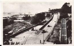 29 BREST 1950 RUE ANIMEE RAMPES PORT CHEMIN DE FER ED CAP 30 TBE - Brest