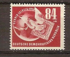 Allemagne Orientale DDR 1950 Yvertn° 14 *** MNH Cote  20 Euro - Neufs