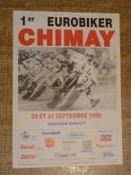 Circuit de Chimay - 1er EUROBIKER CHIMAY - 23 et 24 SEPTEMBRE 1995