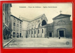 - TARARE - Place Du Château - Eglise Saint André - Tarare