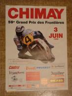 Circuit de Chimay - 59e GRAND PRIX DES FRONTIERES  3 JUIN 1990