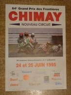 Circuit de Chimay - 64e GRAND PRIX DES FRONTIERES  24 et 25 JUIN 1995