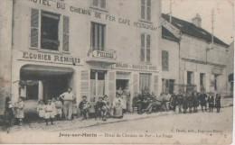 .JOUY SUR MORIN ( Hotel Du Chemin De Fer ) - France