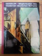 Möglichkeiten Des Modernen Deutschen Romans / 1968 - Livres, BD, Revues