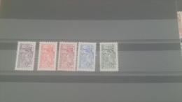 LOT 228961 TIMBRE DE MONACO NEUF** N�415 A 419 VALEUR 85 EUROS