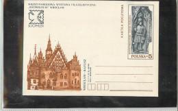 POLSKA  - WROCLAW  Ratusz  -  OROLOGIO  SOLARE  MERIDIANA  -  SUNDIAL - Orologeria