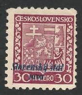 Slovakia, 30 H. 1939, Sc # 6, Mi # 6, MH - Unused Stamps