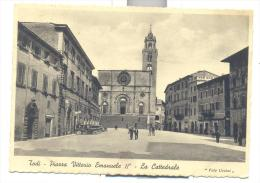 TODI PIAZZA VITT. EMANUELE II LA CATTEDRALE--1N- - Perugia