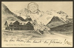 LE LAUTARET Col Et Hôtel Et Glacier De L´Homme (Robert) Hautes Alpes (05) - France