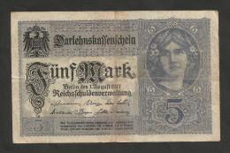 DEUTSCHES REICH - (DEUTSCHLAND / GERMANY) - 50 MARK (BERLIN - 1917) - [ 2] 1871-1918 : Impero Tedesco